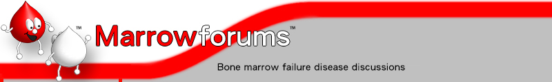Marrowforums: bone marrow failure disease discussions