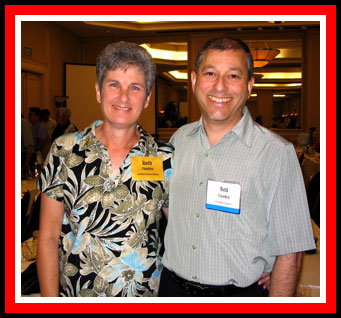 Ruth and Neil Cuadra at the 2005 AA&MDSIF Patient Conference