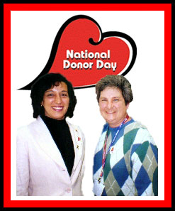 Kathy Andrade and Ruth Cuadra, Chicago, IL, February 11, 2000